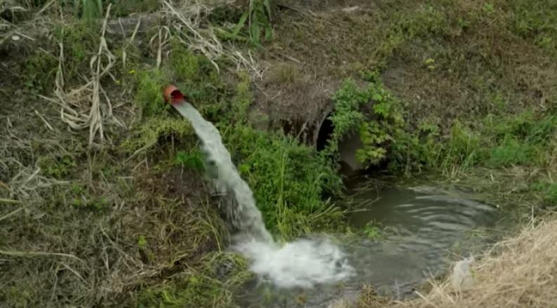 INQUINAMENTO CANALE DI BONIFICA FOSSO IMPERATORE CHIUSO UN NUOVO SCARICO ABUSIVO