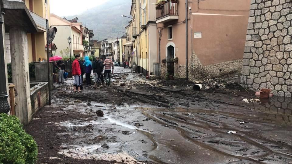Allagamenti e colate di fango a Castel San Giorgio (SA) – Comunicato Stampa del 04.11.2019